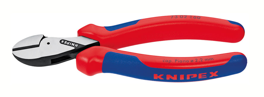 Pliers with blue and red handles have not been approved for work on electrical installations or work on live electrical equipment.
